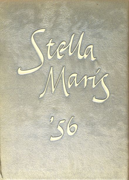 1956 Mary Star of the Sea High School Yearbook Cover