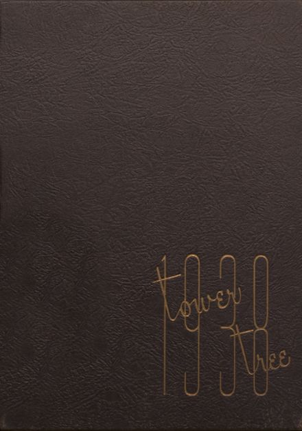 1938 Greensburg High School Yearbook Cover