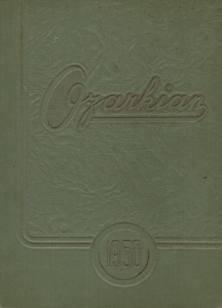 1950 Mountain Grove High School Yearbook Cover