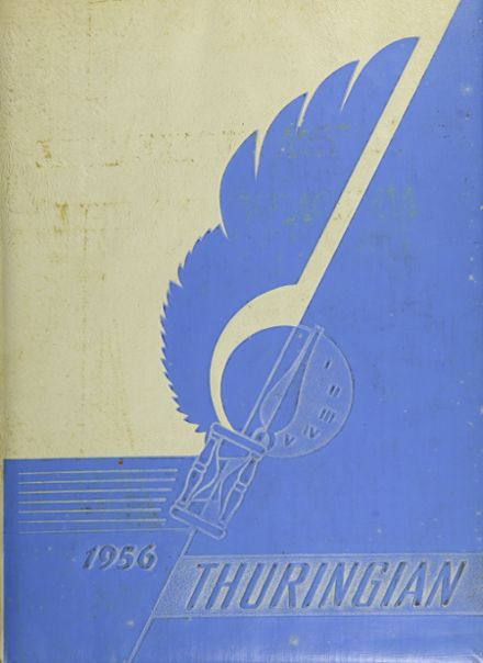 1956 St. Elizabeth Academy Yearbook Cover