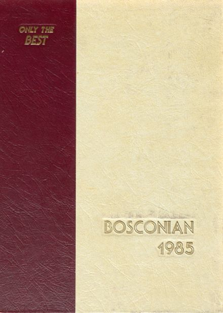 1985 Don Bosco Preparatory Yearbook Cover