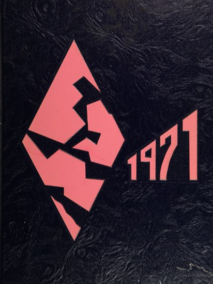 1971 Forest Park High School 406 Yearbook Cover