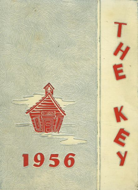 1956 Franklin High School Yearbook Cover