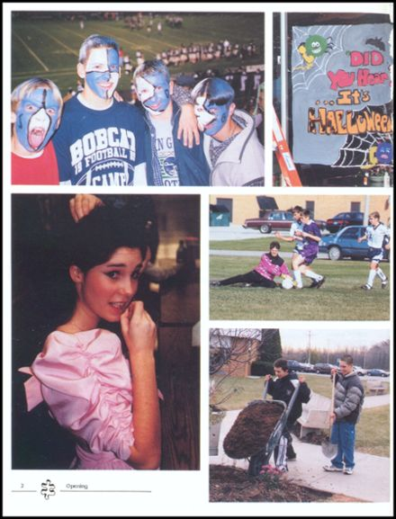 2000 John Glenn High School Yearbook Page 6