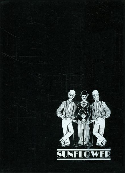 1977 Topeka High School Yearbook Cover