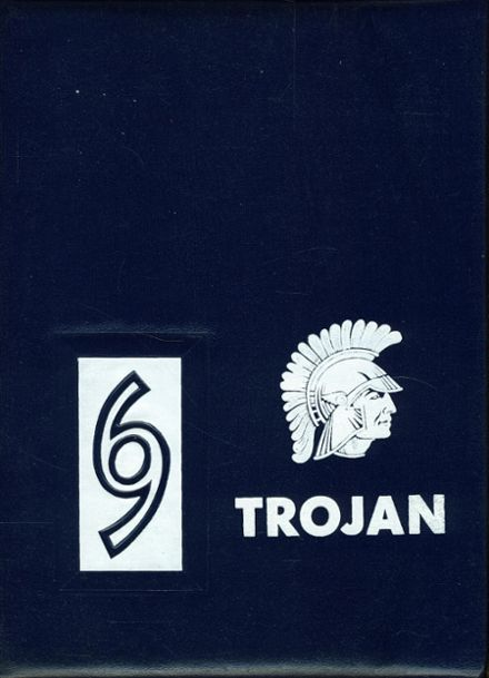 1969 Monticello High School Yearbook Cover