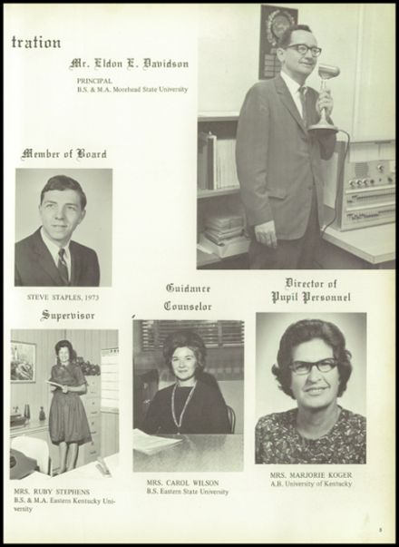 1969 Monticello High School Yearbook Page 9
