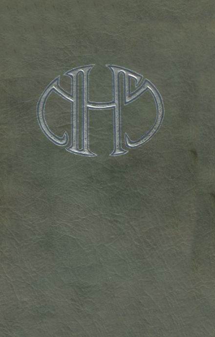 1922 Napa Union High School Yearbook Cover