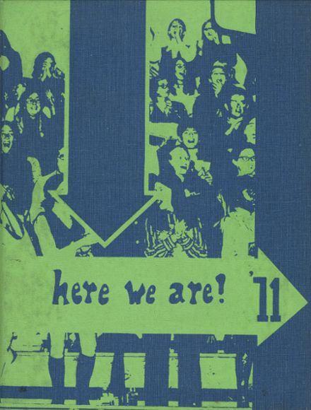 1971 Sussex Central High School Yearbook Cover