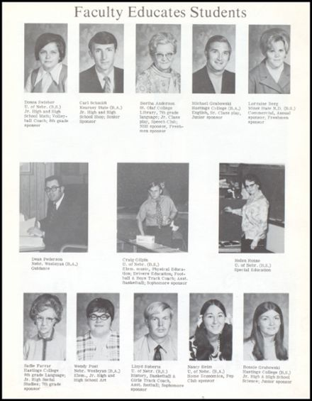 1971 Fairmont High School Yearbook Page 9