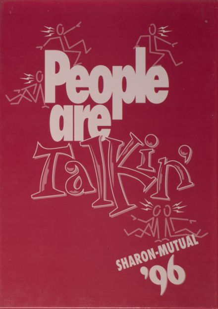 1996 Sharon Mutual High School Yearbook Cover