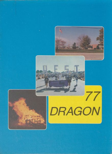 1977 Fairmont West High School (1965-1983) Yearbook Cover