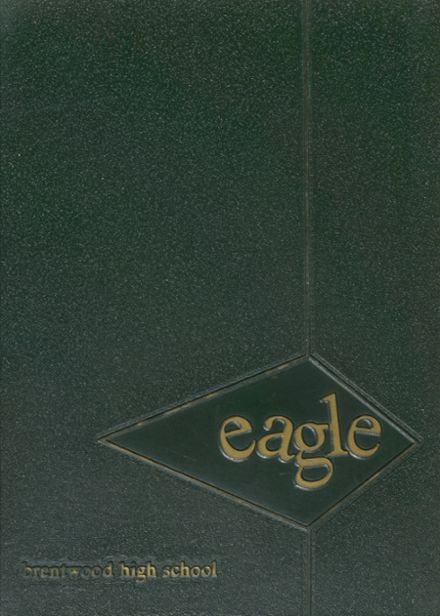 1966 Brentwood High School Yearbook Cover