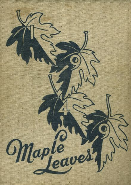 1949 Maplewood-Richmond Heights High School Yearbook Cover