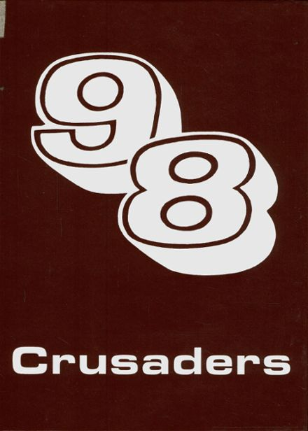 1998 Pleasant Grove Christian Academy Yearbook Cover
