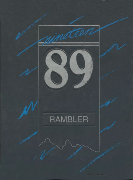 1989 Cascade High School Yearbook Cover