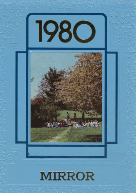 1980 Michigan School for the Deaf Yearbook Cover