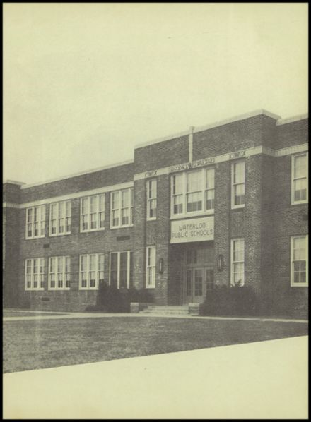 1950 Waterloo High School Yearbook Page 7