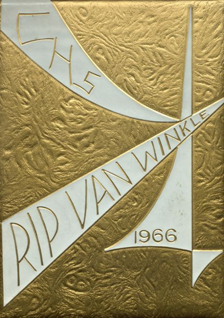 1966 Catskill High School Yearbook Cover