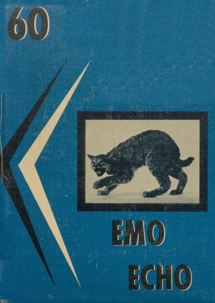 1960 Eastmont High School Yearbook Cover