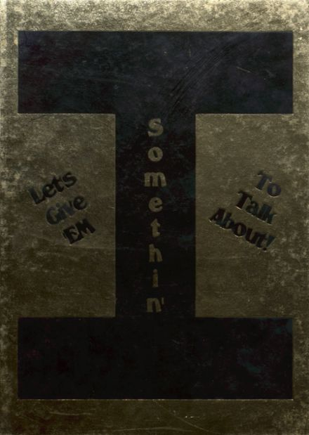 2007 Ider High School Yearbook Cover