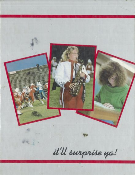 1988 Borger High School Yearbook Cover