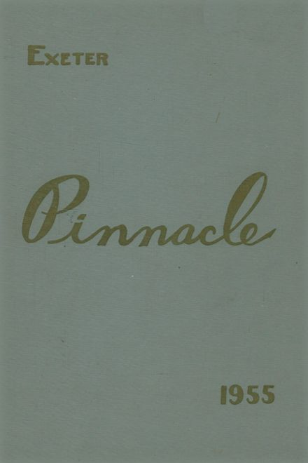 1955 Exeter Area High School Yearbook Cover