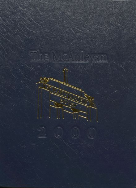 2000 St. Mary's High School Yearbook Cover