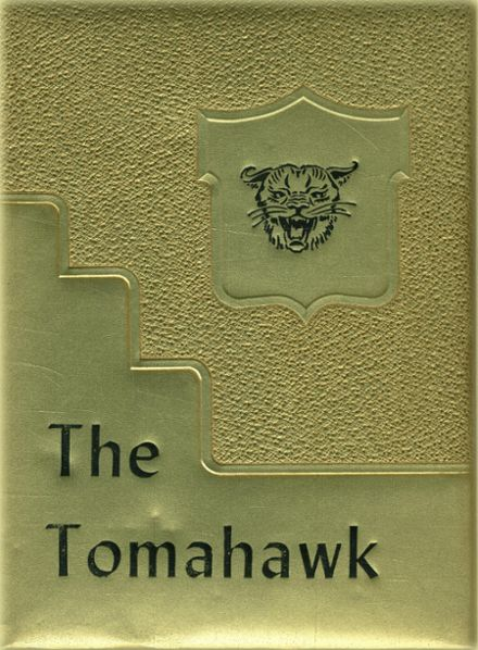 1952 Ferndale High School Yearbook Cover