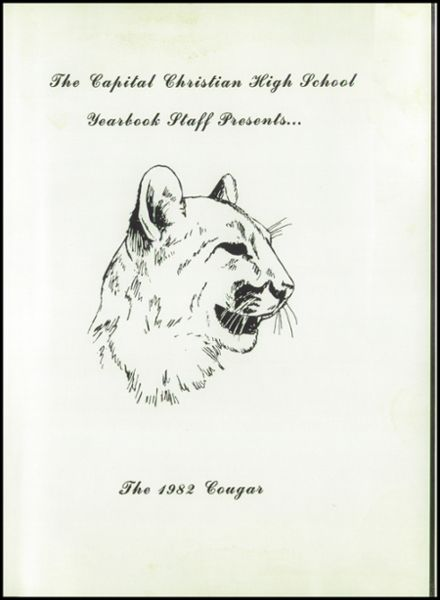 1982 Capital Christian High School Yearbook Page 5
