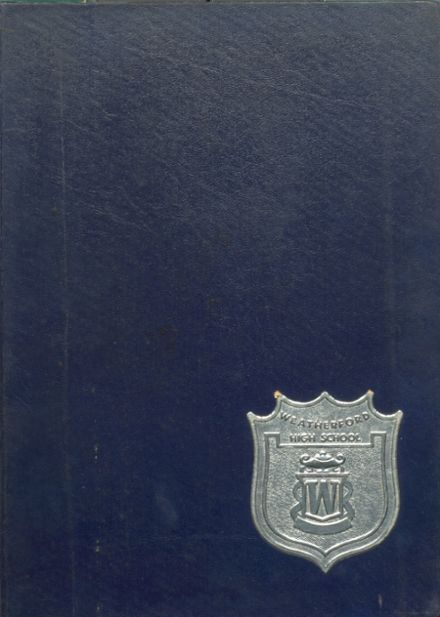 1964 Weatherford High School Yearbook Cover
