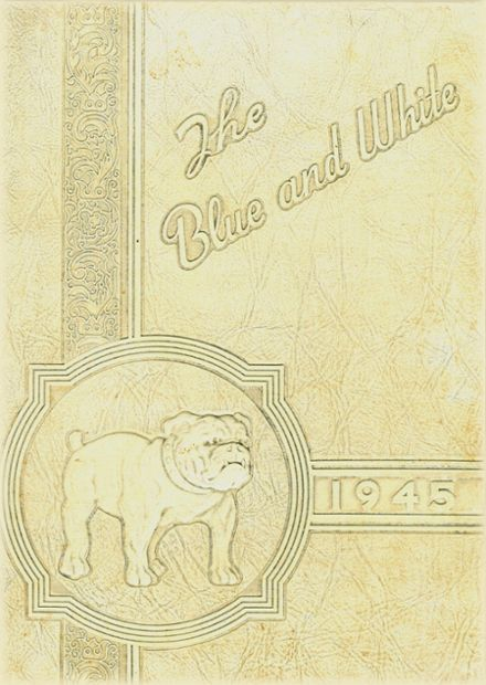 1945 Galena High School Yearbook Cover