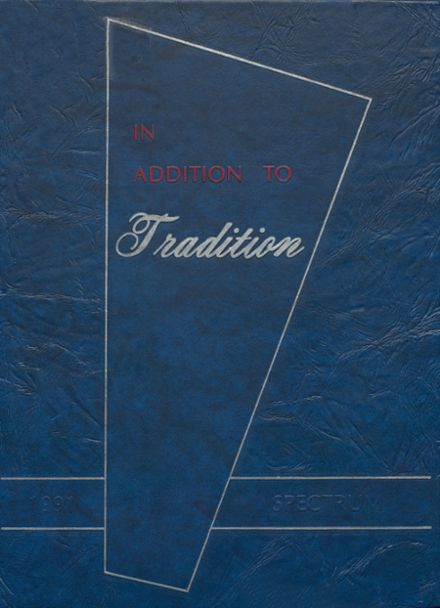 1991 Shaler Area High School Yearbook Cover