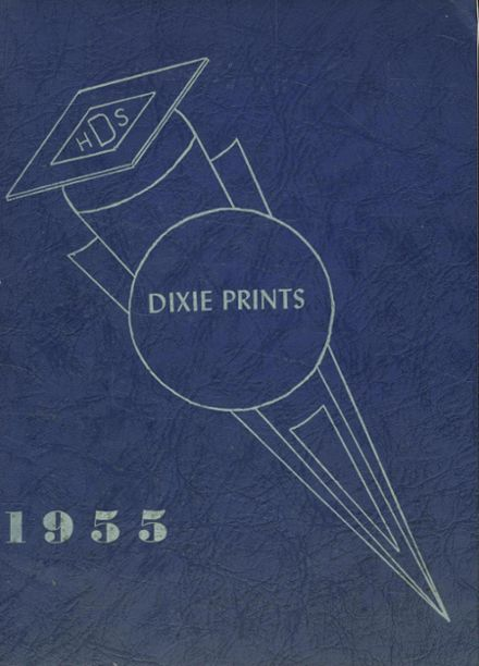1955 Dixfield Seventh Day Adventist School Yearbook Page 1