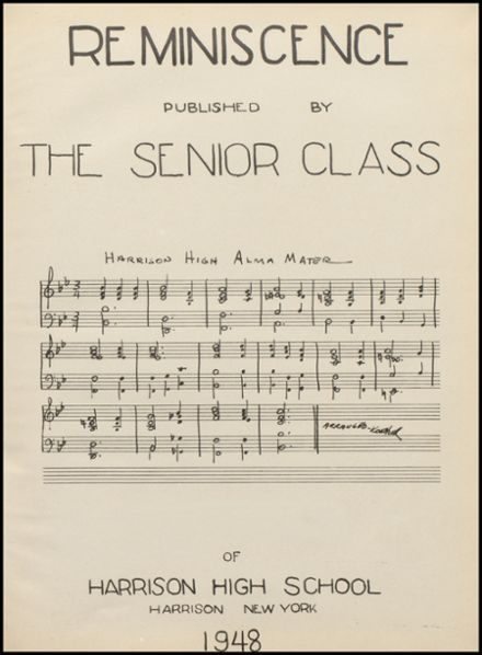 1948 Harrison High School Yearbook Page 5