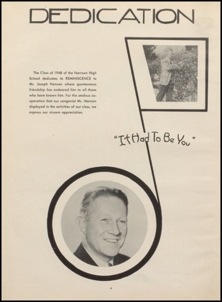 1948 Harrison High School Yearbook Page 8