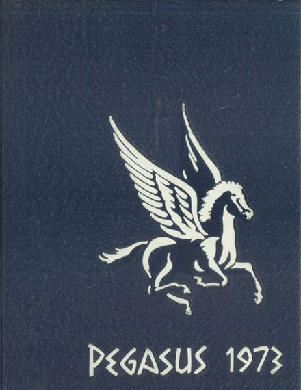 1973 Christian Brothers Academy Yearbook Cover