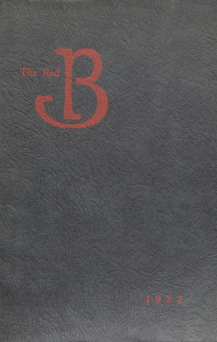 1927 Brodhead High School Yearbook Page 1