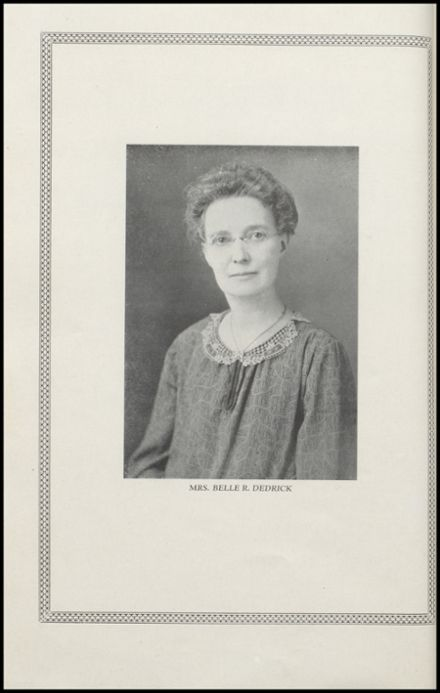 1927 Brodhead High School Yearbook Page 6