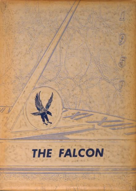 1959 Findlay High School Yearbook Cover