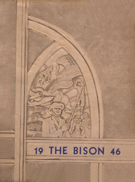 1946 Cross Plains High School Yearbook Cover