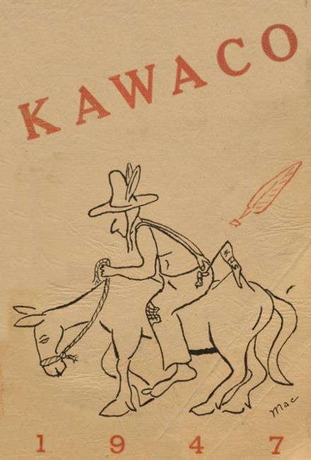 1947 Kalama High School Yearbook Cover