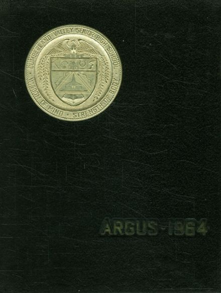 1964 Cumberland Valley High School Yearbook Cover