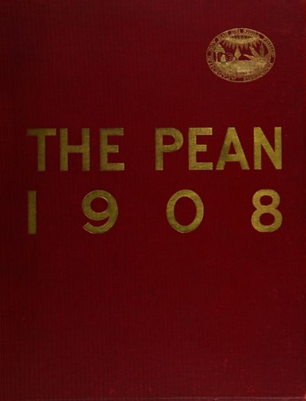 1908 Phillips Exeter Academy Yearbook Cover
