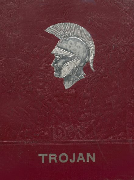 1968 Kirby High School Yearbook Cover