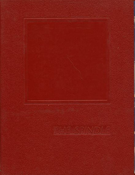 1976 Lowell High School Yearbook Cover