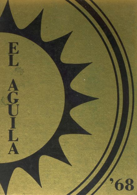 1968 Del Oro High School Yearbook Cover