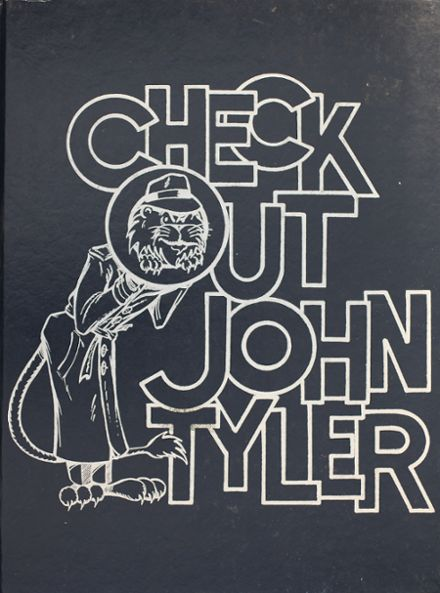1984 John Tyler High School Yearbook Cover