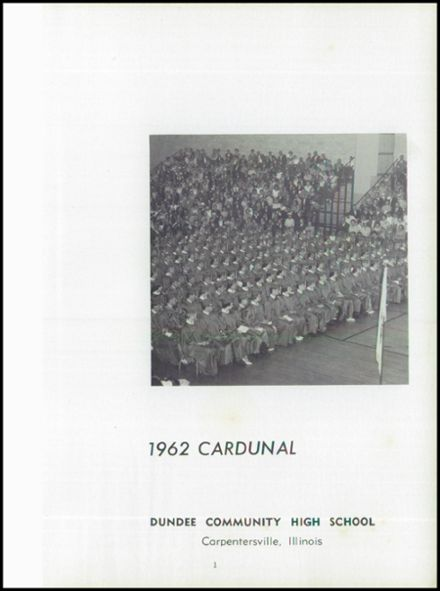 1962 Dundee Community High School Yearbook Page 5