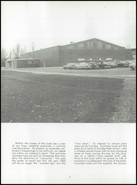 1962 Dundee Community High School Yearbook Page 6